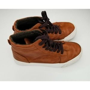 Old Navy Lace Up High Top Brown Sneakers Shoes